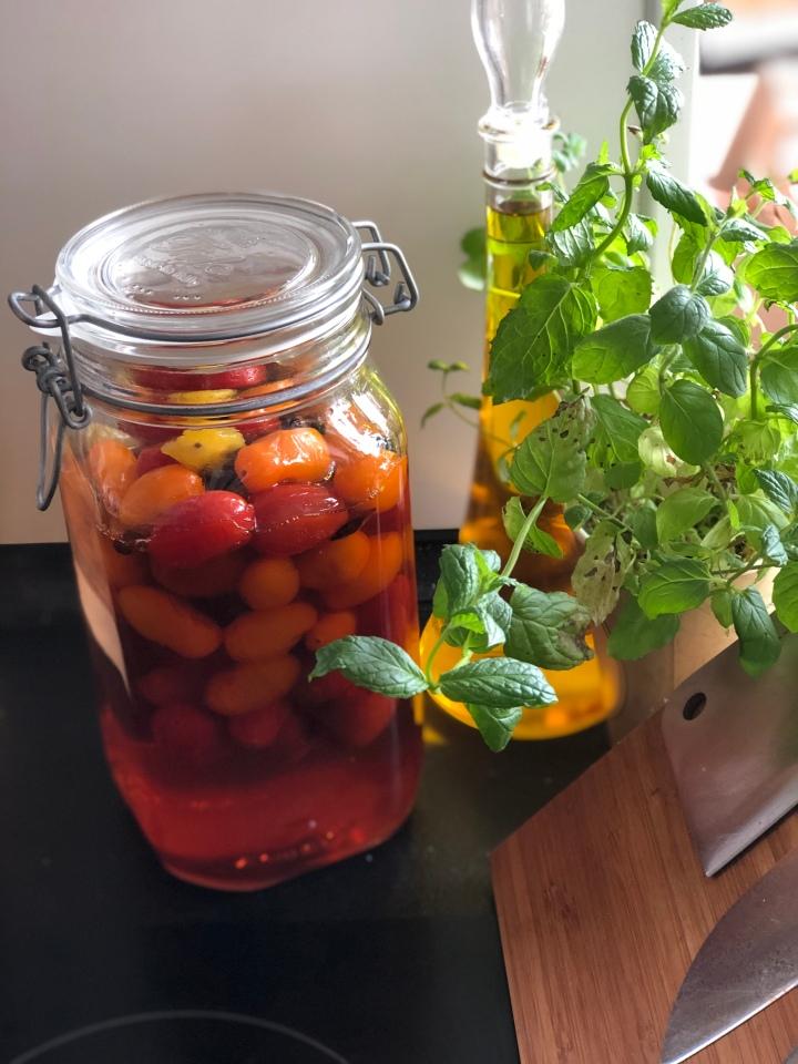 Syltede tomater m.stjerneanis