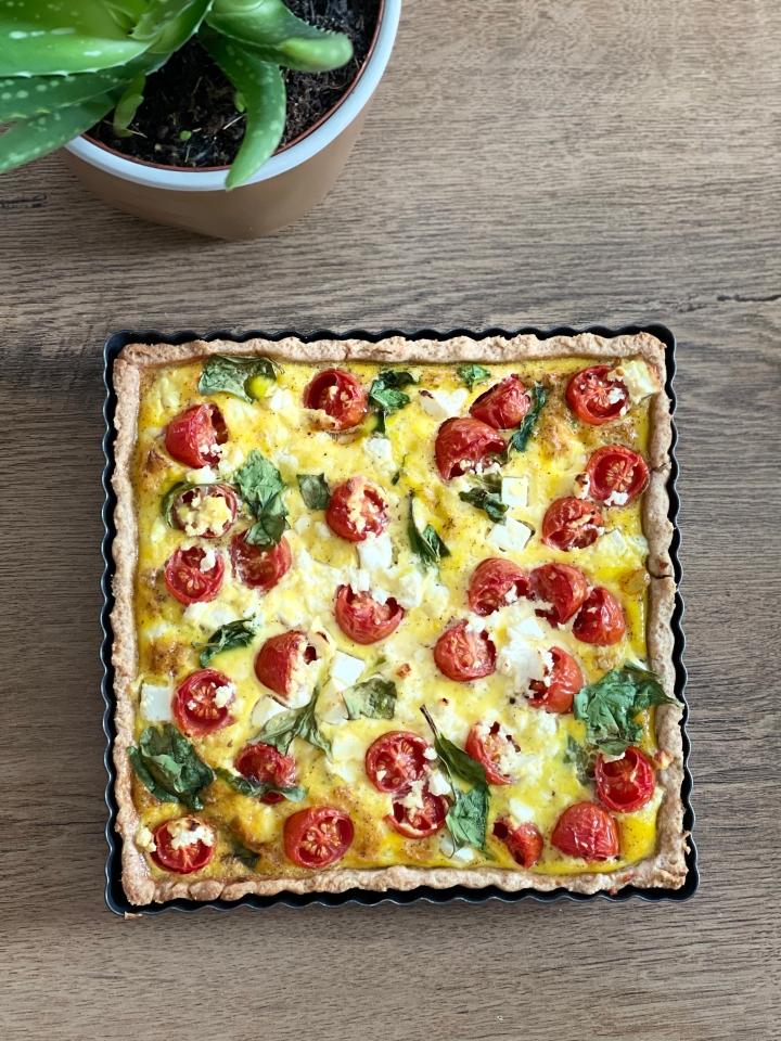 Laktosefri og vegansk tærtedej–med groftmel